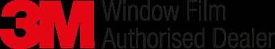 3M Logo Original Autoriseret forhandler af vinduesfilm